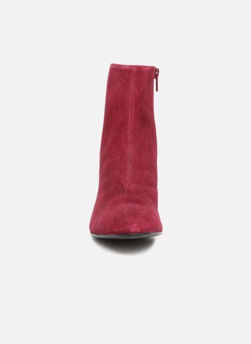 Stiefeletten & Boots Vagabond Shoemakers Olivia 4217-040 weinrot schuhe getragen
