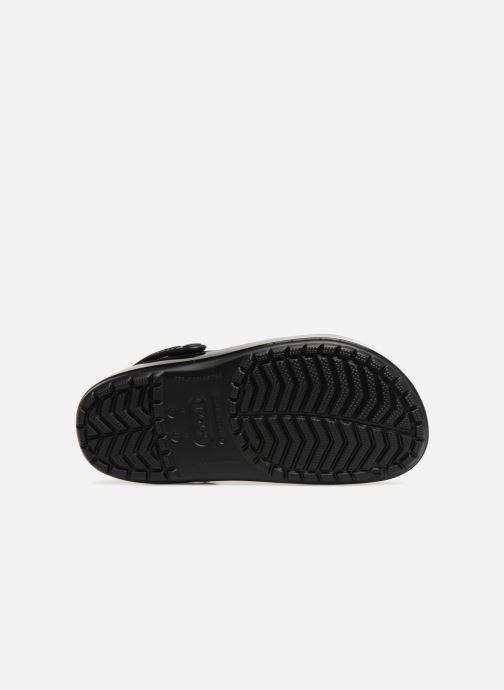Mules et sabots Crocs Crocband Glitter Clog F Noir vue haut