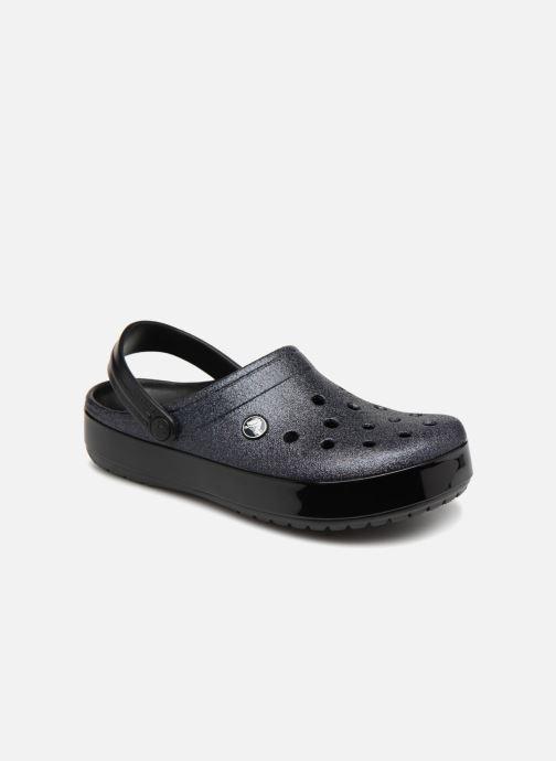 Mules et sabots Crocs Crocband Glitter Clog F Noir vue détail/paire