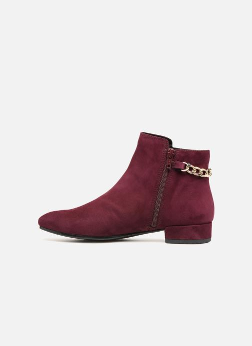 Ankle boots Vagabond Shoemakers SUZAN Burgundy front view