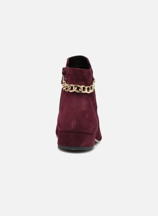 Ankle boots Vagabond Shoemakers SUZAN Burgundy view from the right