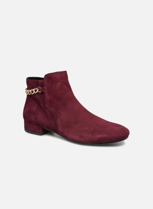 Ankle boots Vagabond Shoemakers SUZAN Burgundy detailed view/ Pair view