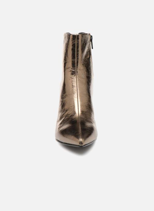 Stiefeletten & Boots Vagabond Shoemakers WHITNEY gold/bronze schuhe getragen
