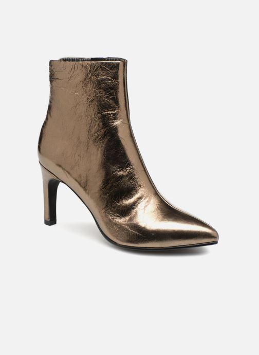 0c2f14ce959 Bottines et boots Vagabond Shoemakers WHITNEY Or et bronze vue détail paire