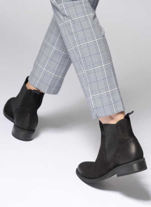 Bottines et boots Vagabond Shoemakers CARY Noir vue bas / vue portée sac