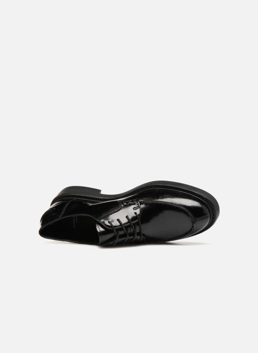Veterschoenen Vagabond Shoemakers ALEX W Zwart links