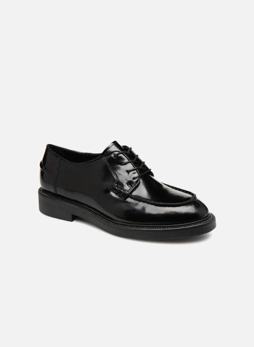 Veterschoenen Vagabond Shoemakers ALEX W Zwart detail