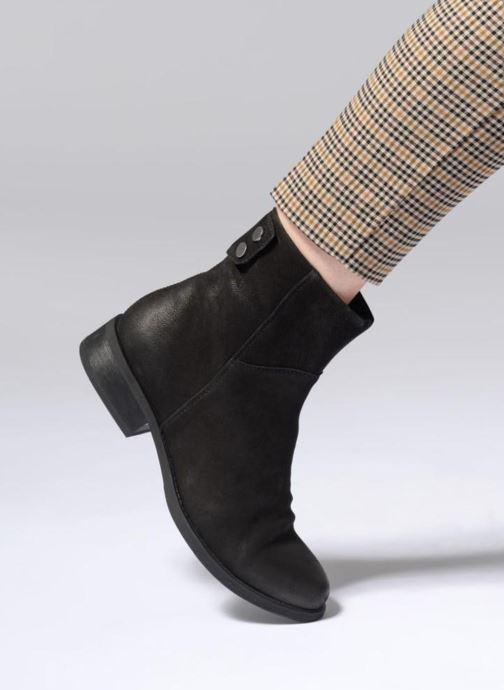 Botines  Vagabond Shoemakers CARY 3 Negro vista de abajo