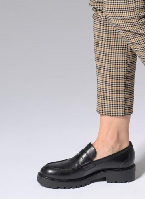 Loafers Vagabond Shoemakers KENOVA 4 Black view from underneath / model view