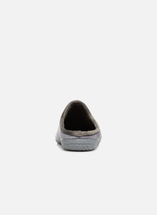 Slippers La maison de l'espadrille Johnny Grey view from the right