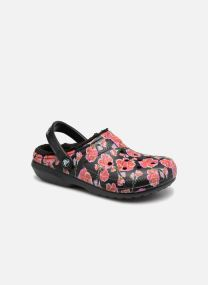 Zuecos Mujer Classic Lined Graphic II Clog
