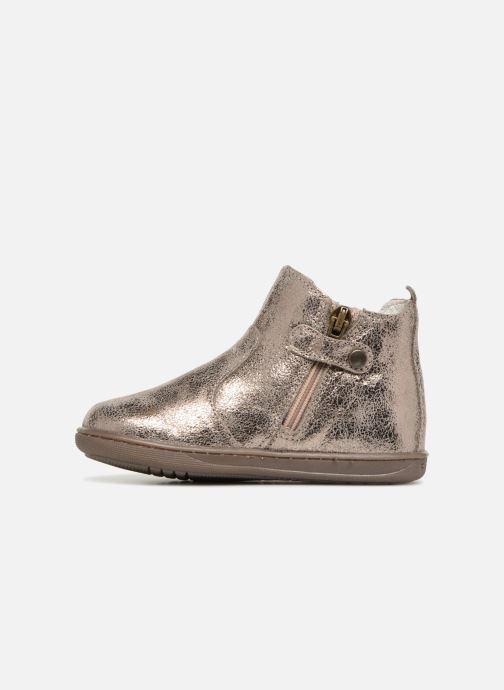 Bottines et boots Primigi Celestina Or et bronze vue face