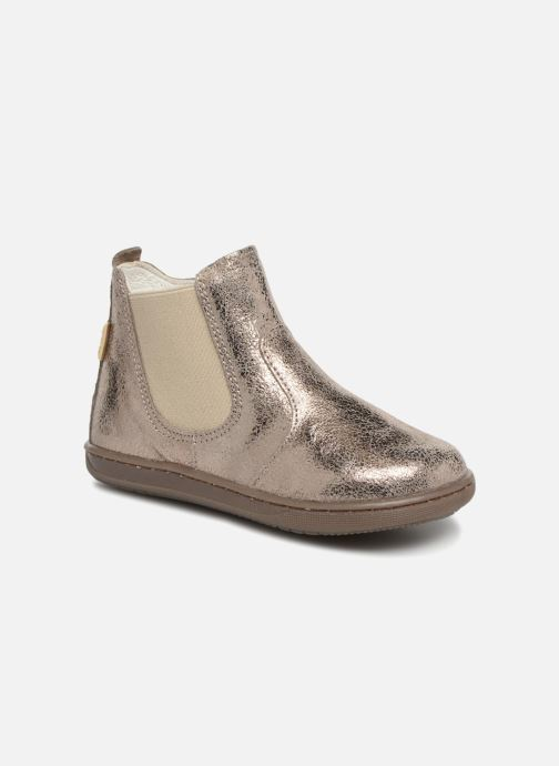 Ankle boots Primigi Celestina Bronze and Gold detailed view/ Pair view