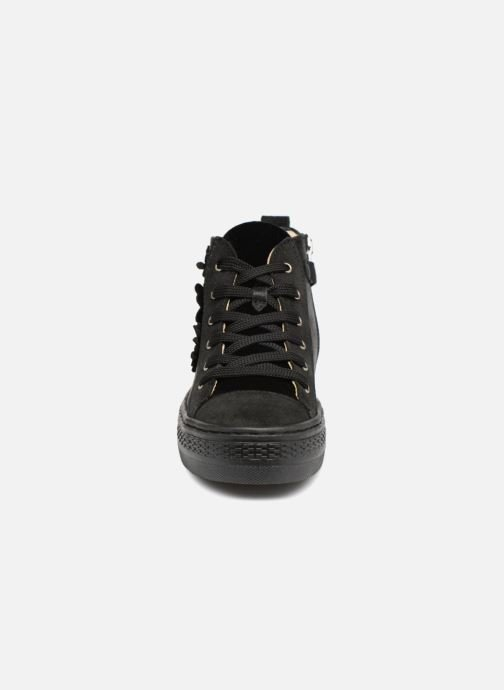 Sneaker Primigi Florenza schwarz schuhe getragen
