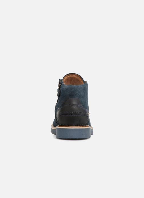 Bottines et boots Primigi Alceo Bleu vue droite