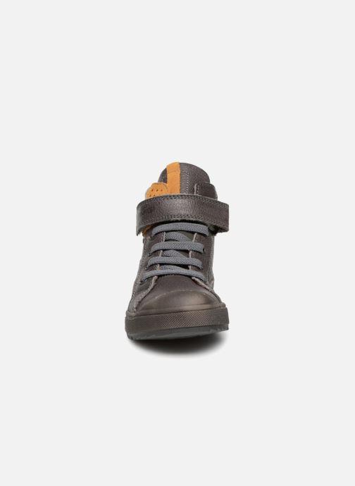 Baskets Primigi Germano Gris vue portées chaussures