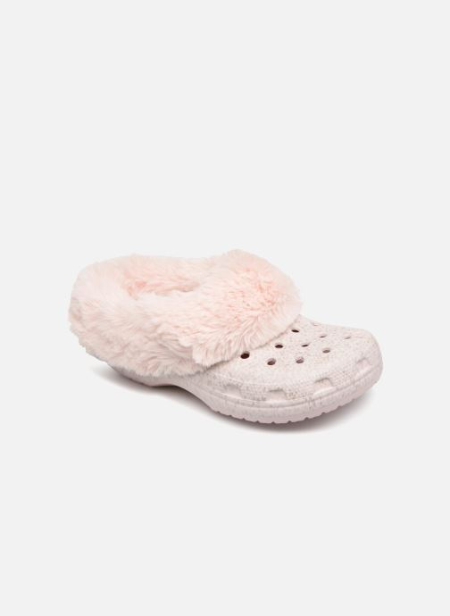 aa5b5e686889 Crocs Classic Mammoth Luxe Radiant Clog (Pink) - Mules   clogs chez ...