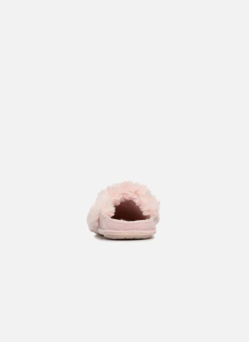 Hausschuhe Crocs Classic Luxe Slipper rosa ansicht von rechts