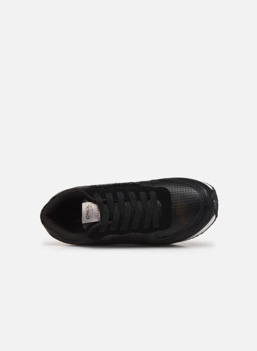 Baskets ONLY onlSILLIE MIX SNEAKER Noir vue gauche