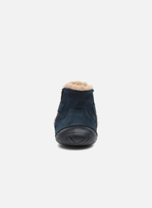 Bottes Primigi Morena Bleu vue portées chaussures