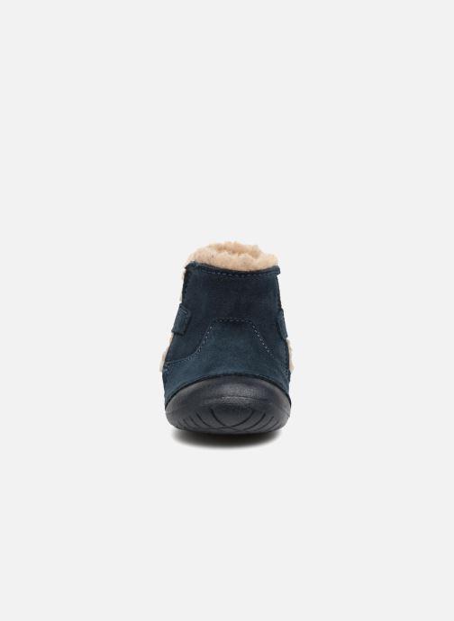 Stivali Primigi Morena Azzurro modello indossato