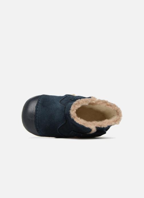 Stiefel Primigi Morena blau ansicht von links