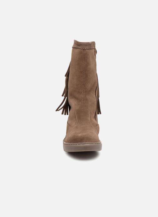 Bottes Primigi Gavina Marron vue portées chaussures