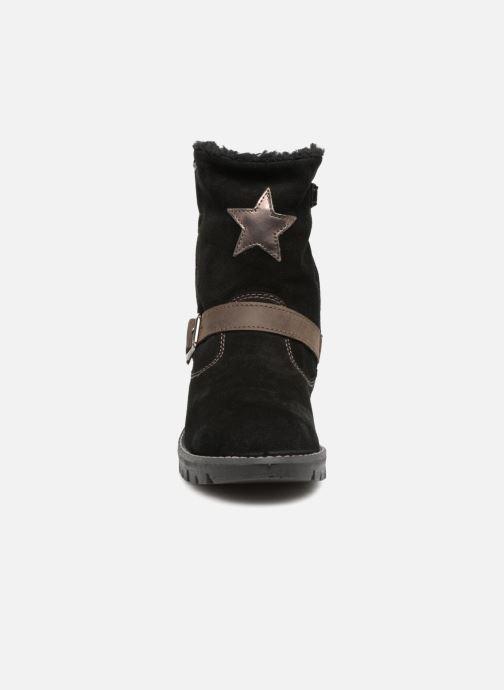 Bottes Primigi Ilenia GTX Noir vue portées chaussures