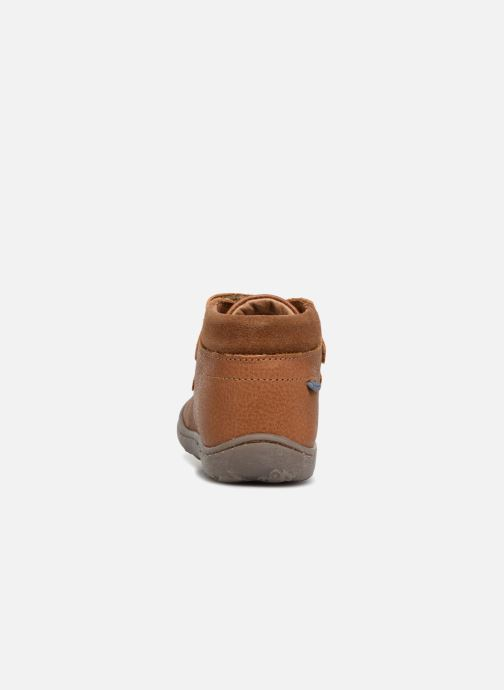 Ankle boots Primigi Ottavio Brown view from the right