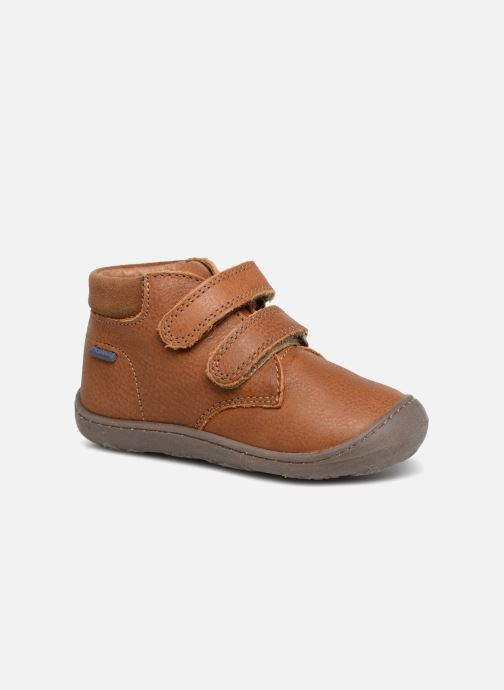 Ankle boots Primigi Ottavio Brown detailed view/ Pair view