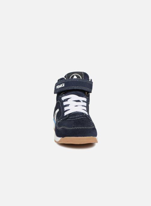 Sneakers Primigi Emiliano Azzurro modello indossato