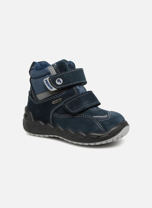 Sport shoes Primigi Giorgio GTX Blue detailed view/ Pair view