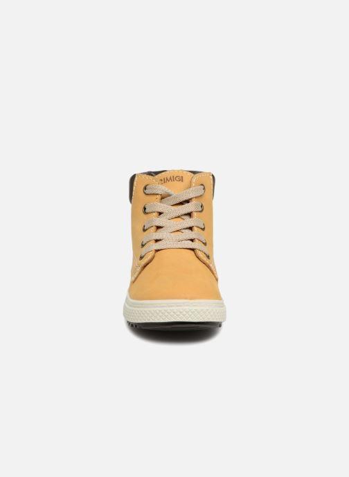 Bottines et boots Primigi Alberto Jaune vue portées chaussures