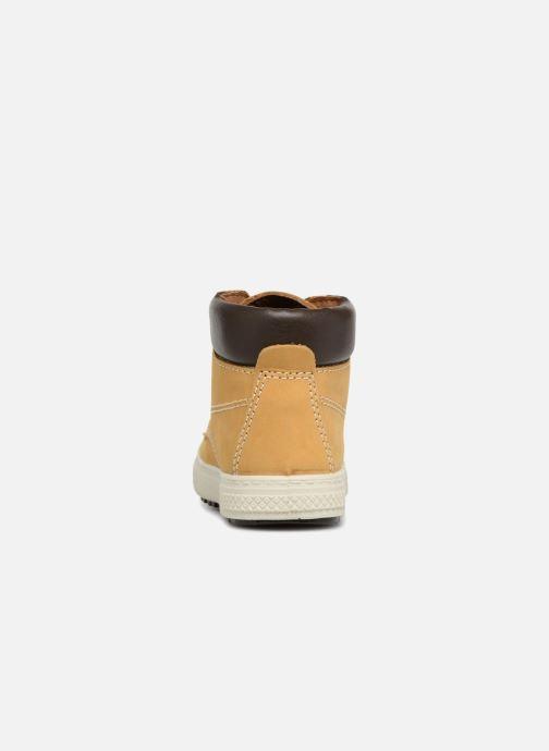 Bottines et boots Primigi Alberto Jaune vue droite