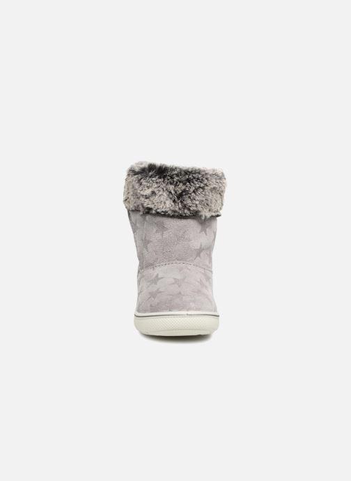 Bottes Primigi Laura Gris vue portées chaussures