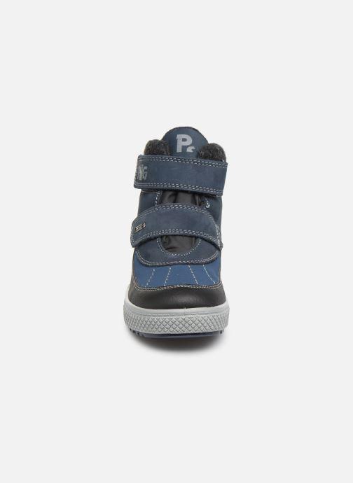 Chaussures de sport Primigi Fabrizio GTX Bleu vue portées chaussures