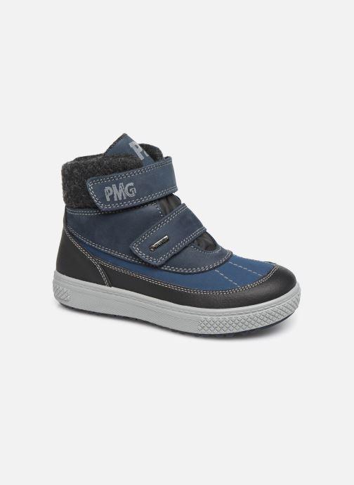 Sportssko Primigi Fabrizio GTX Blå detaljeret billede af skoene