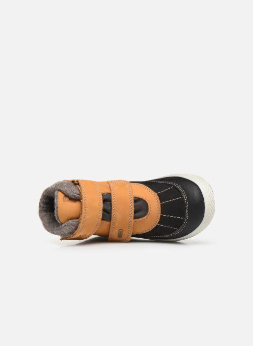 Zapatillas de deporte Primigi Fabrizio GTX Amarillo vista lateral izquierda