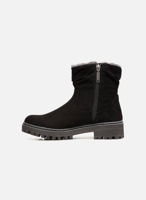 Bottines et boots S.Oliver SOFIA Noir vue face