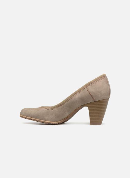 High heels S.Oliver LARISSA SUEDE Grey front view