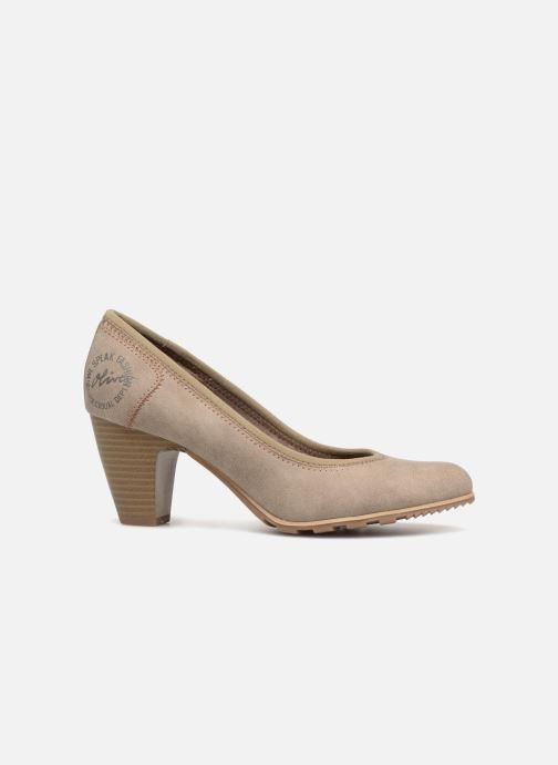 High heels S.Oliver LARISSA SUEDE Grey back view