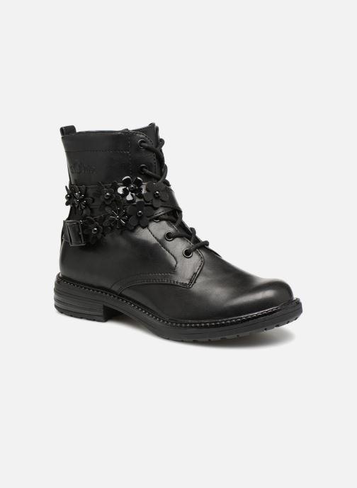 Ankelstøvler S.Oliver SANDRA Sort detaljeret billede af skoene