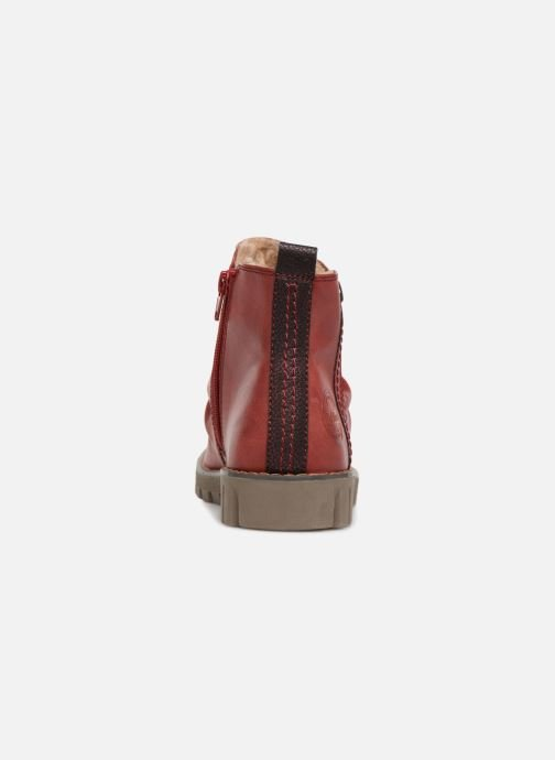 Ankle boots S.Oliver ZOE Red view from the right