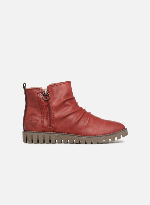 Ankle boots S.Oliver ZOE Red back view