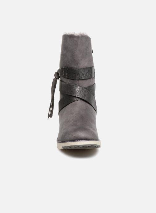 Bottes S.Oliver BELINDA Gris vue portées chaussures