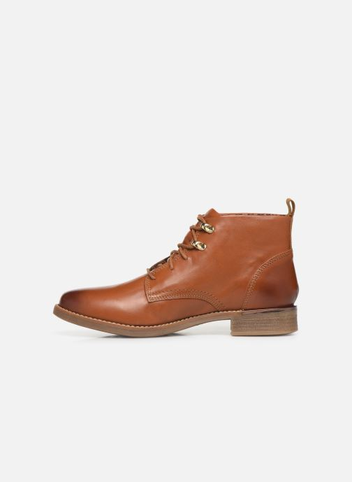 Ankle boots S.Oliver CHRISTIE Brown front view