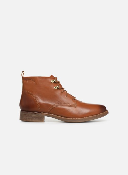 Ankle boots S.Oliver CHRISTIE Brown back view