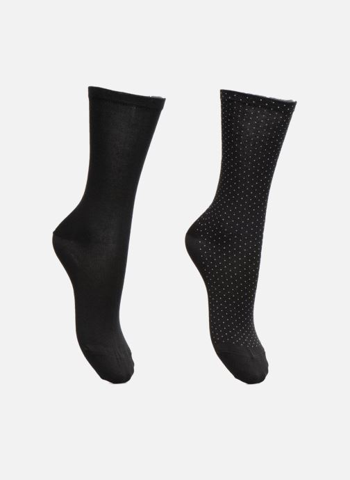 Chaussettes et collants Esprit Chaussettes MICRO PIQUET SO Lot de 2 Noir vue détail/paire