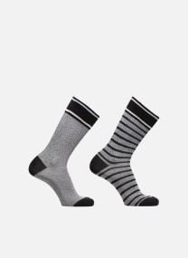 Chaussettes MELANGE STRIPE SO Lot de 2