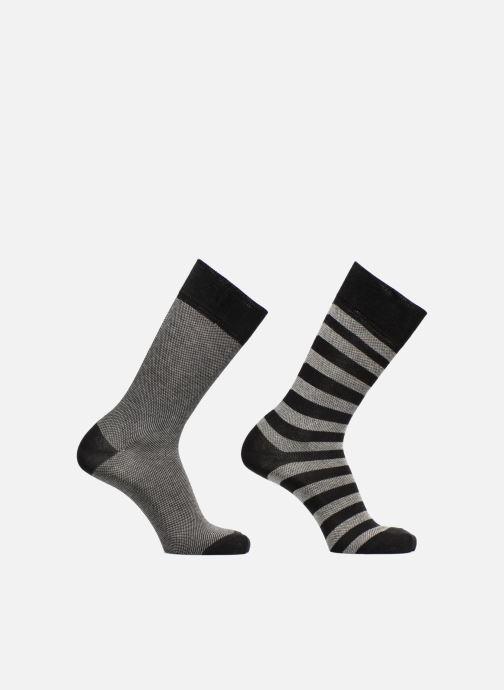 Sokken en panty's Esprit Chaussette PIQUE STRIPE SOPP Lot de 2 Zwart detail